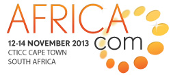 Africa Com - 12-14 November 2013 - CTICC Capte Town South Africa